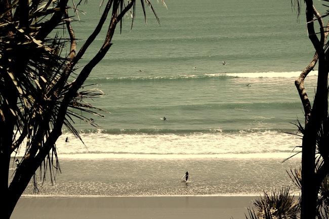 the beach, Raglan